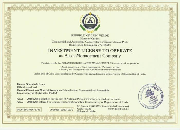 лицензия инвест questra